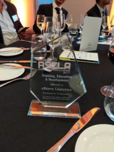 SCLAA Award Winner eStore Logistics