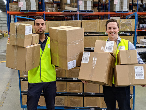 Store Logistics order fulfillment expert for warehousing